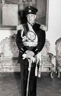 Gustavo Rojas Pinilla President of Colombia