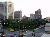 Grand Circus Park elevated angle - Detroit Michigan.jpg