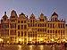 Grand Place 1-7 during civil twilight, Brussels (DSCF1982).jpg