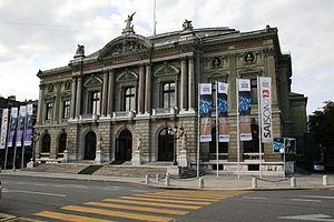 Grand Théâtre de Genève - Front Façade