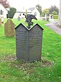 Grave at Llanymynech churchyard - geograph.org.uk - 583035.jpg