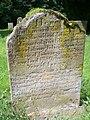 Gravestone of Mary Clark, 1789 - geograph.org.uk - 661454.jpg