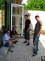 Gravity Slaves recording (8), Studio Contrepoint, May 2010.jpg