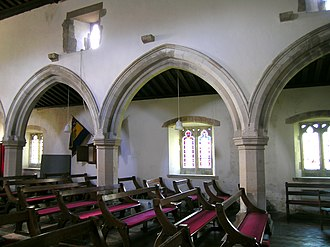 Great and Little Kimble cum Marsh - North arcade of nave (c1250)