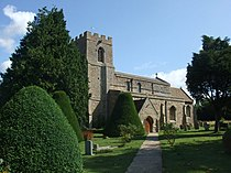 Great Paxton church from the South West - geograph.org.uk - 1417106.jpg