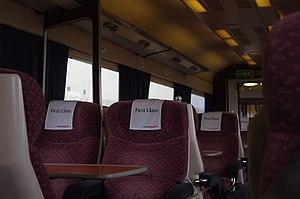 Antimacassar - Antimacassars on rail carriage seats
