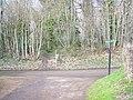 Greensand Way crosses Loddington Lane - geograph.org.uk - 1196112.jpg