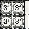 Grenada 3 pence 1906 Postage Due stamps.JPG