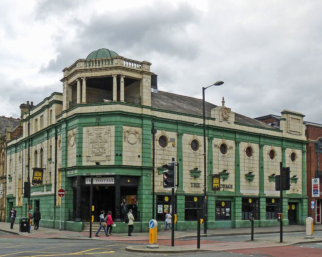 Grosvenor Picture Palace (The Footage), Oxford Road, Manchester (14775887637)