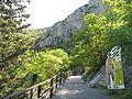 Grotte di Toirano-sentiero di accesso.JPG