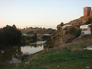 Guadaíra - The Guadaíra River at Alcalá de Guadaíra.
