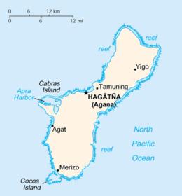 Guam - Mappa