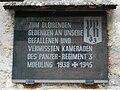 GuentherZ 2010-11-20 0063 Moedling Sankt-Othmar-Kirche Gedenktafel Panzerregiment3.jpg