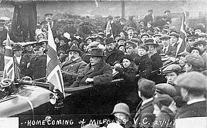 Hubert William Lewis - Lewis returning to Milford Haven.