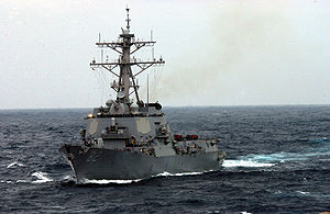 Guided missile destroyer USS Lassen (DDG 82)