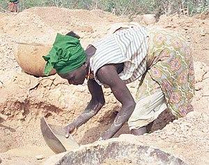Mining industry of Guinea - Mining in Siguiri, Guinea