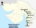 Gujarat Queen Route Map.png