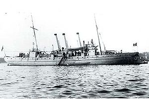 Sleipner after the rebuild in 1900
