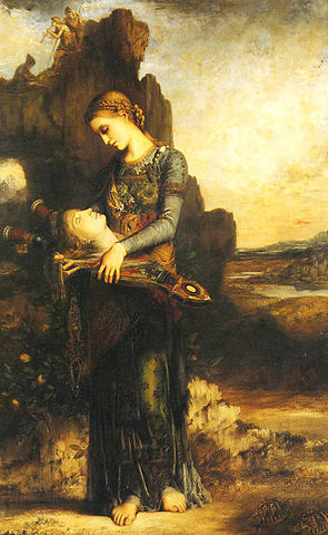 Фракийская девушка с головой Орфея на его лире, 1865, Музей Орсе, Париж
