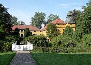 """Rödinghausen - """"Gut Böckel"""", the water castle in the village of Bieren"""