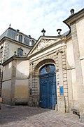 Hôtel de Blossac - Portail sur la rue du Chapitre - DSC 0811