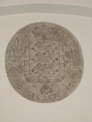 Supreme Court (Denmark) - The seal of the Supreme Court