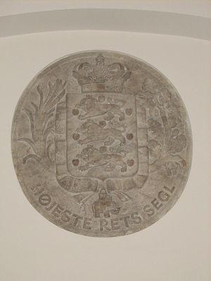 Supreme Court (Denmark) - The seal of the Supreme Court