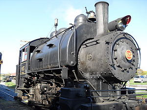 H.K. Porter, Inc. - 0-6-0 H.K. Porter locomotive from 1930 at the WK&S