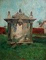 HENRIQUE BERNARDELLI (1858 - 1936), Fonte mineira, 1927, óleo sobre tela, 31 x 24 cm, Photo Gedley Belchior Braga.jpg