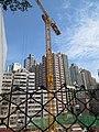HK 石塘咀 Shek Tong Tsui 翰林峰 Novum West construction site view from Clarence Terrace Nov 2017 IX1 09.jpg