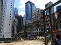 HK Central Gage Street 08 construction site Aug-2012.JPG