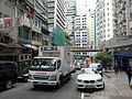 HK Sheung Wan 水坑口街 Possession Street Sunwah FUSO Canter truck Jan-2016 DSC.JPG