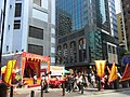 HK Sheung Wan Wing Lok Street Morrison Street event ING Tower West Exchange Tower Oct-2012.JPG