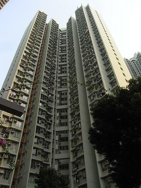 File:HK Tung Chung Fu Tung Estate facade Oct-2012.JPG