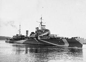 HMS Bermuda (52) - Image: HMS Bermuda