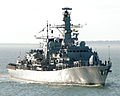 HMS Lancaster Returns to Portsmouth MOD 45149893.jpg