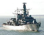 HMS Lancaster Returns to Portsmouth MOD 45149893.jpg