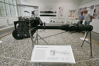 Walter HWK 109-509 - HWK 109-509A on display at the Luftwaffenmuseum, Berlin-Gatow, Germany