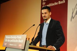 Farid Hafez - Farid Hafez at the Bruno-Kreisky-Anerkennungspreis 2010