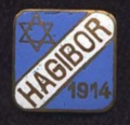 Hagibor prague pin.png