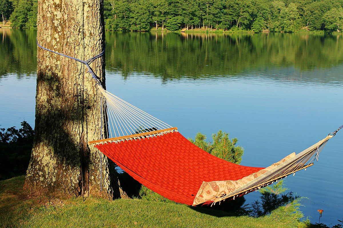 and fabric pillow quilted blue duty combo lazy hammock wave heavy steel two daze for stand hammocks white feet person