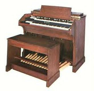 Hammond organ - A Hammond C-3 organ