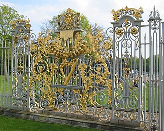 Jean Tijou - Image: Hampton Court Avri 2009 60