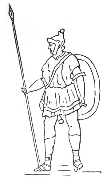 Hannibal spanish soldier