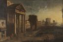 Harbour with Capriccio (Alessandro Salucci) - Nationalmuseum - 17836.tif