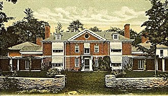 Charles A. Platt - Image: Harlakenden House, Cornish, NH