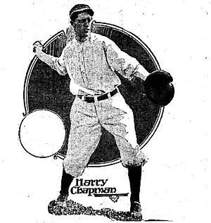 Harry Chapman (baseball) - Image: Harry chapman newspaper