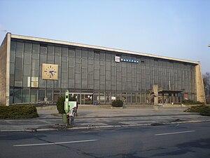 Гавиржов: Havířov, vlakové nádraží, budova