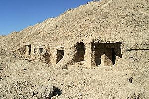 El Hawawish - Rock tombs at El Hawawish