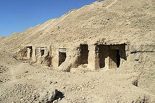 El Hawawish Village in Sohag Governorate, Egypt